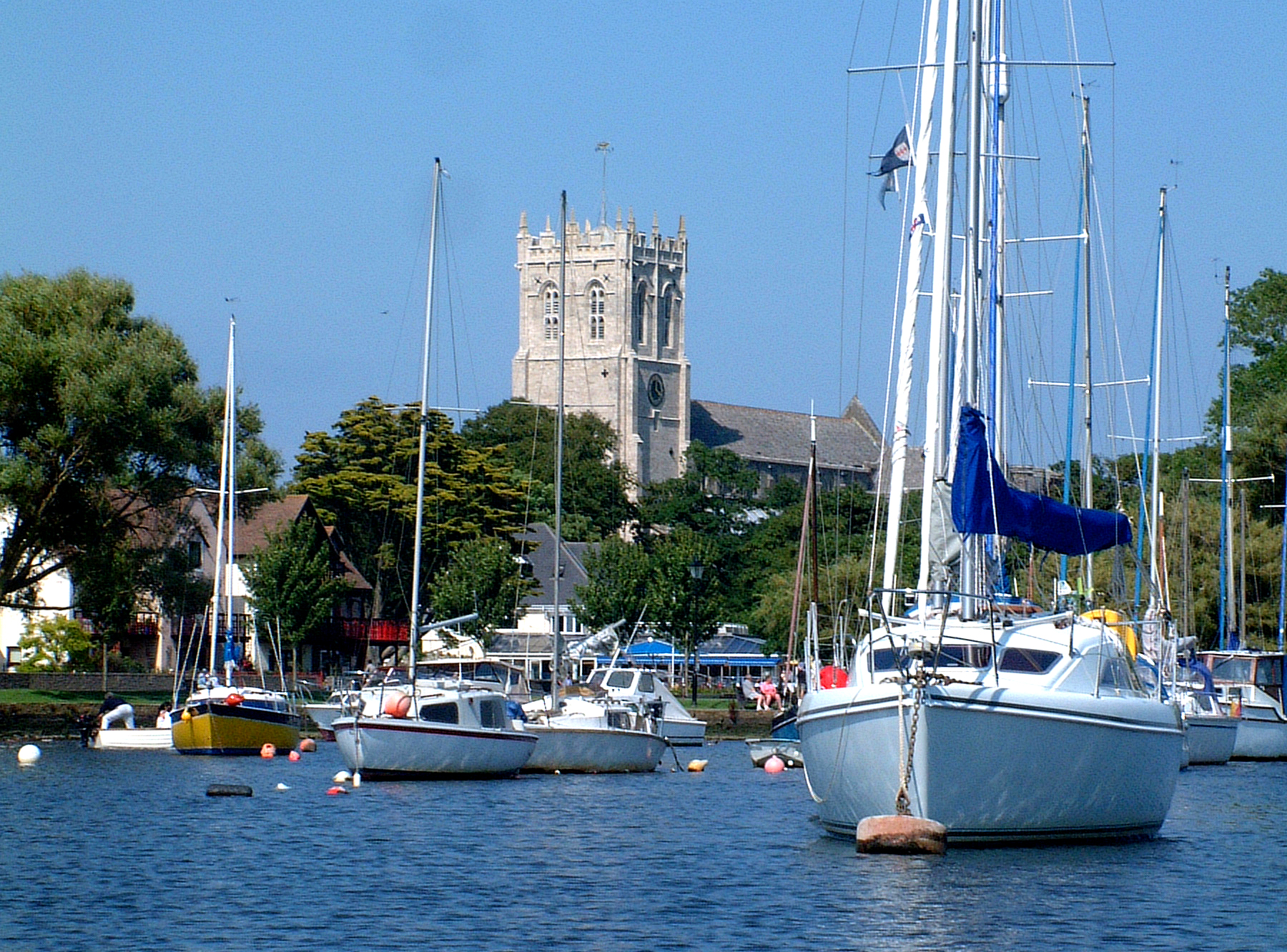 Christchurch-boats