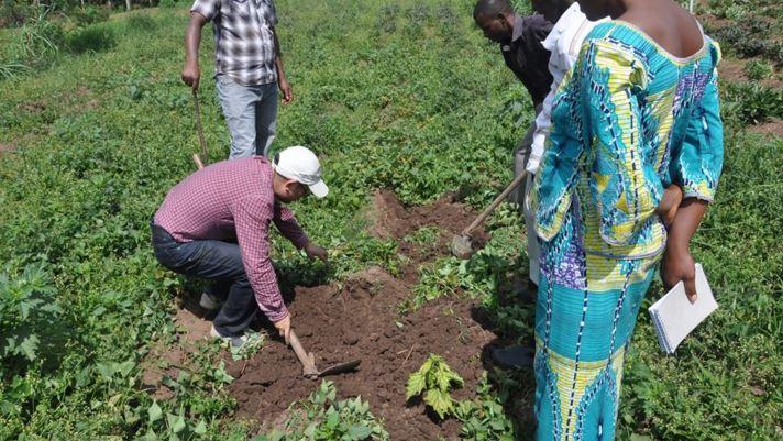 Rwanda China soil