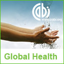 Global health banner icon