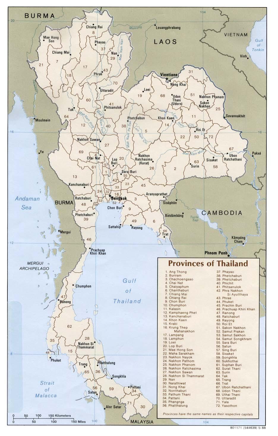Thailand_provinces