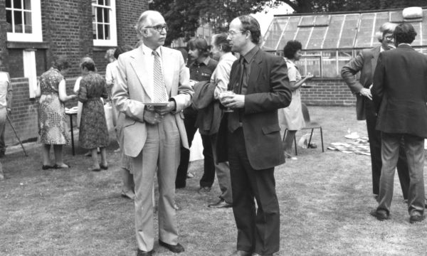 Anthony Johnston (left) was Director Commonwealth Mycological Institute between 1968 to 1983. He was instrumental in the changeover from manual to computerised production of abstract journals and setting up a computer database with an on-line retrieval service.