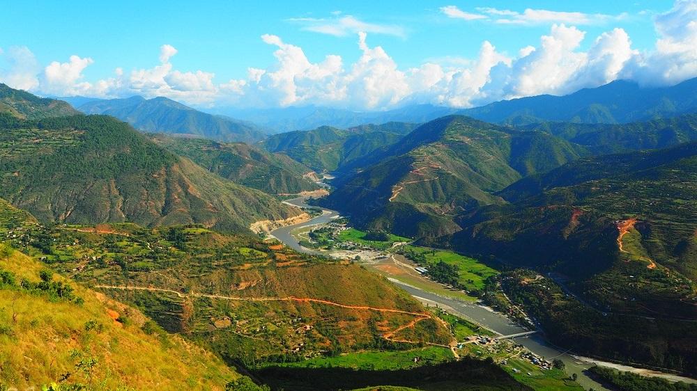 Nepalese hills